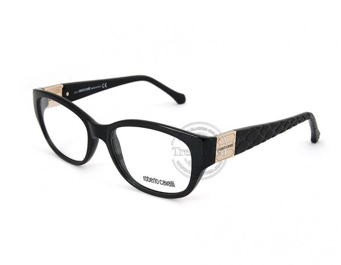 ROBERTO CAVALLI optical glasses for women model VELIDHU 754 color 001