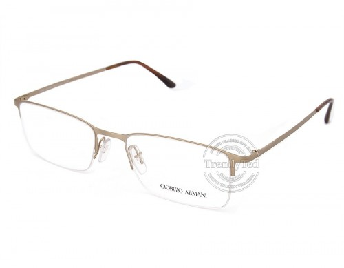 Giorgio Armani Semi Rimless Optical Glasses model 5010 color 3038