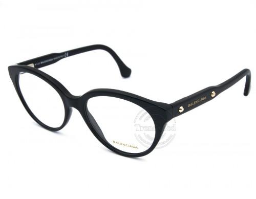 عینک طبی BALENCIAGA مدل 5001 رنگ 001 BALENCIAGA - 1