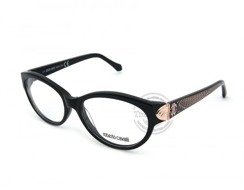 ROBERTO CAVALLI OPTICAL GLASSES FOR WOMEN MODEL FELICITE 769 COLOR 001