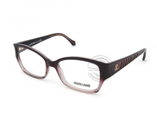 ROBERTO CAVALLI unisex optical glasses model MOYENNE 772 color 083