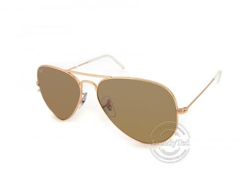 RAYBAN Polarized unisex Sunglasses model RB3025 color 001.3K AviatorLargeMeral