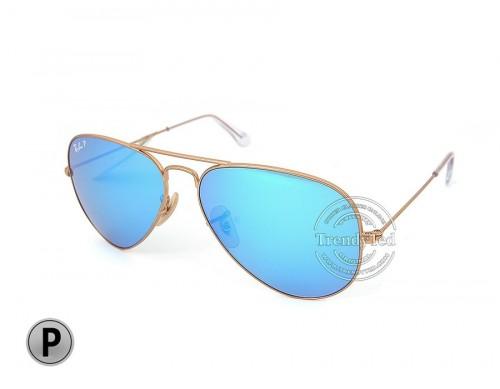 RAYBAN Polarized unisex Sunglasses model RB3025 color 112/4L