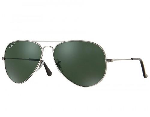 RAYBAN Polarized unisex Sunglasses model RB3025 color 004/58