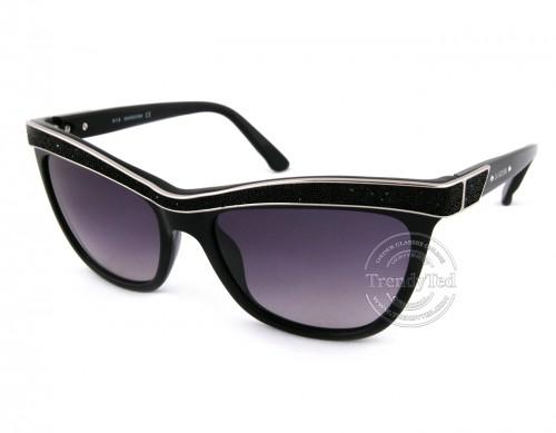 عینک افتابی swarovski مدل ELLASW75 رنگ 01B Swarovski - 1