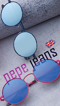 pepejeans round shape sunglasses