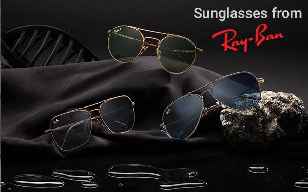 Gold & wood sunglasses